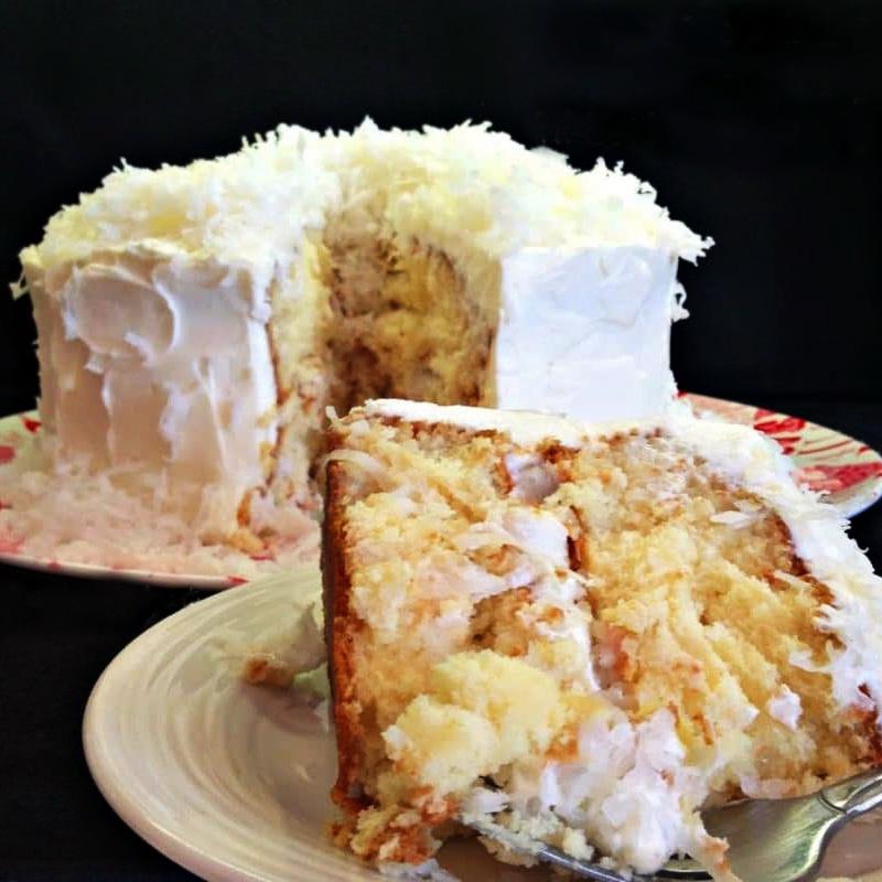 Roshelle's Cuisine and Catering Services Atlanta - Coconut Cream Cake